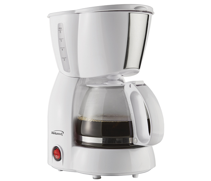 (TS-213W) 4 Cup Coffee Maker WHITE
