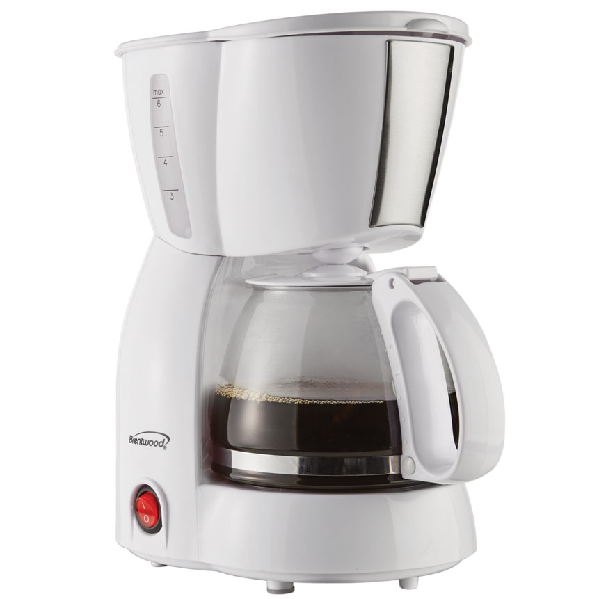 4 Cup Coffee Maker WHITE