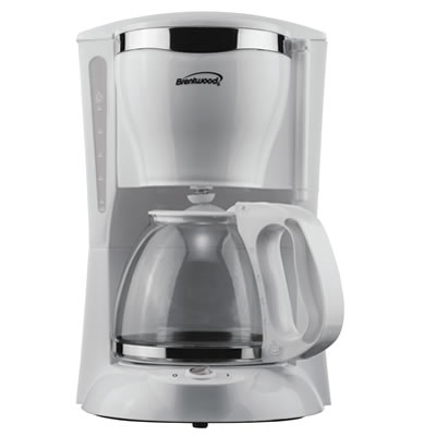 (TS-216) 12 Cup Coffee Maker in White