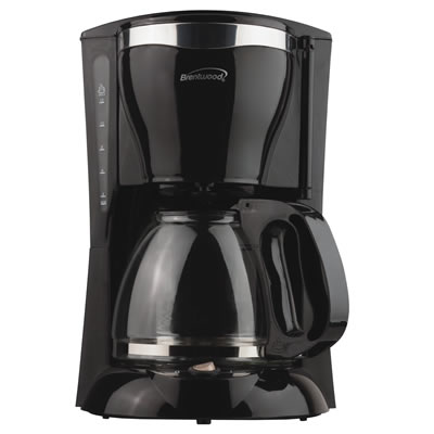 (TS-217) 12 Cup Coffee Maker in Black