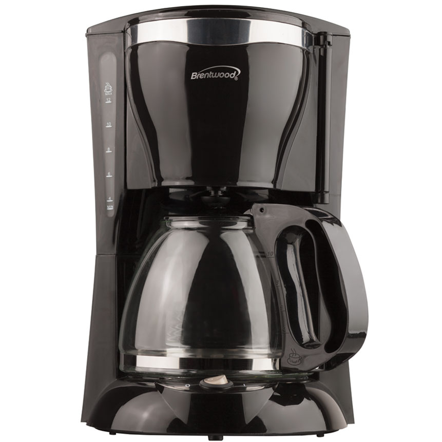 12 Cup Coffee Maker in Black