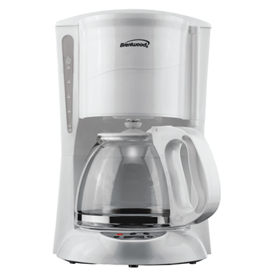 (TS-218W) 12 Cup Digital Coffee Maker in White