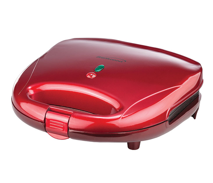 (TS-240R) Sandwich Maker in Red