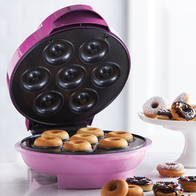 ts 250 mini donut maker brentwood appliances. Black Bedroom Furniture Sets. Home Design Ideas