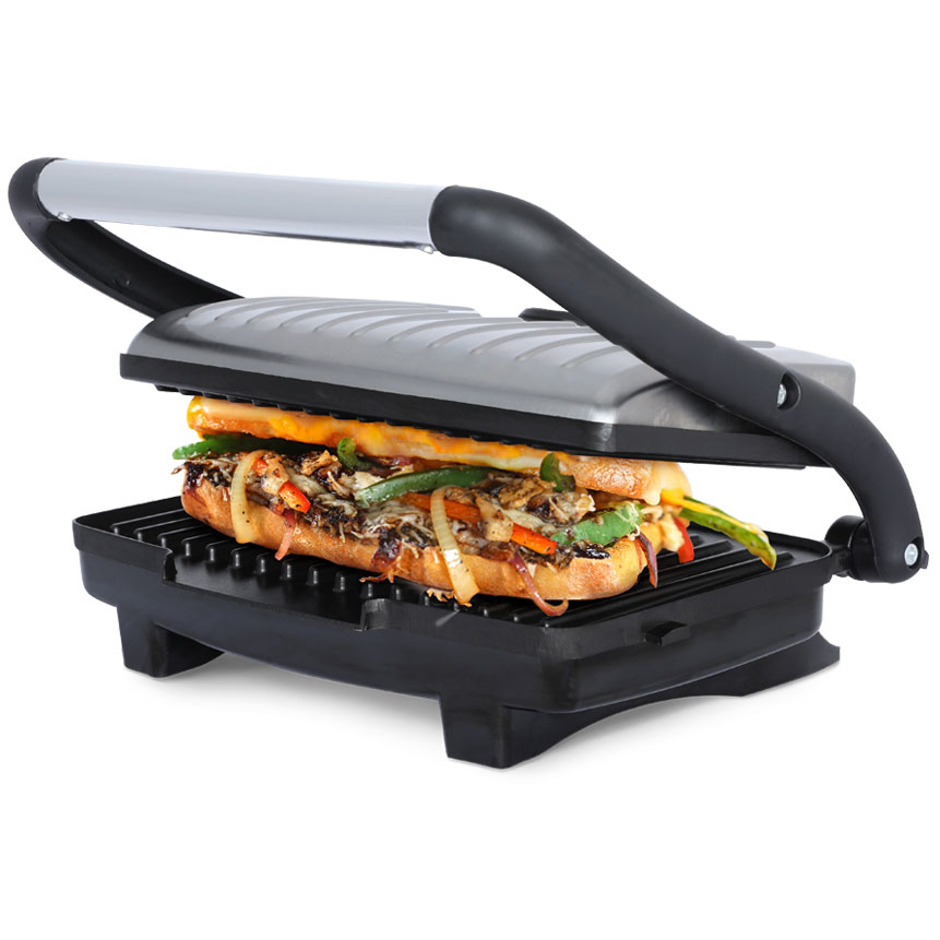 TS-611 Ceramic Panini Press