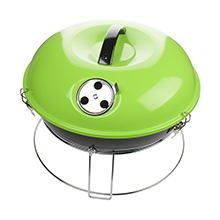 Brentwood BB-1400G 14-Inch Portable Charcoal BBQ Grill, Green