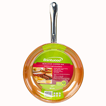 Brentwood BFP-328C 11-inch Non-Stick Induction Copper Frying Pan