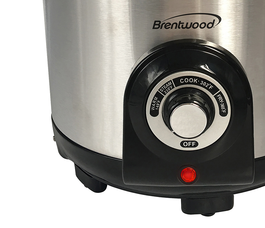 Brentwood Df 706 Electric Deep Fryer Amp Multi Cooker 5 2