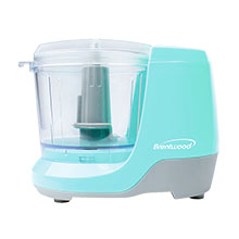 Brentwood MC-109BL 1.5 Cup Mini Food Chopper, Blue