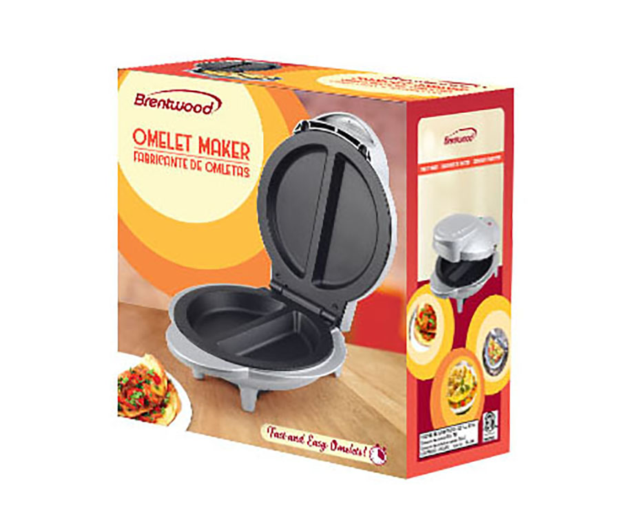 Brentwood Ts 255 Non Stick Electric Omelet Maker Brentwood Appliances