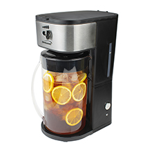 Brentwood KT-2150BK Iced Tea and Coffee Maker with 64oz Pitcher, Black