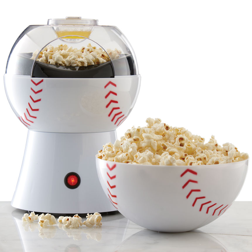 Brentwood PC-485 Baseball 8-Cup Hot Air Popcorn Maker