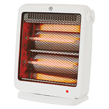 Brentwood H-Q800W 800-Watt Portable Space Heater, White