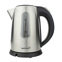Coming Soon - Brentwood KT-1710S 1-Liter Stainless Steel Cordless Electric Kettle