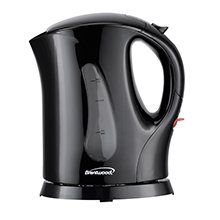 Brentwood KT-1610BK BPA Free 1L Cordless Electric Kettle, Black