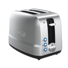 Coming Soon - Brentwood Select TS-227S Extra Wide Slot 2-Slice Toaster, Stainless Steel