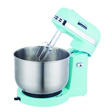 Brentwood SM-1162BL 5-Speed Stand Mixer with 3Qt. Stainless Steel Mixing Bowl, Blue